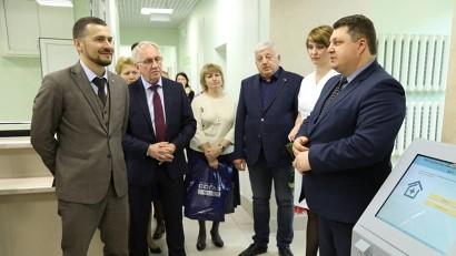 В Архангельской городской клинической больнице №7 открыли новую регистратуру