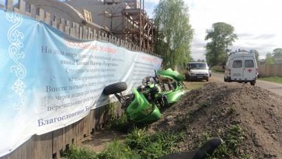 В Котласе в ДТП погиб водитель квадроцикла