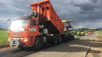На региональных дорогах Поморья начались ремонты в рамках дорожного нацпроекта