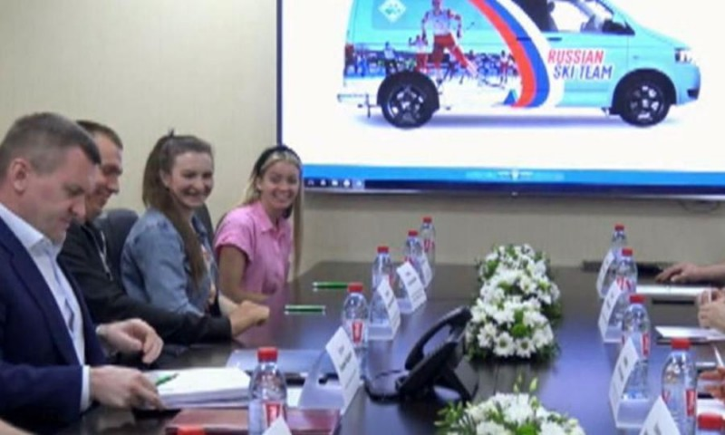 Вустьянской Малиновку подписано соглашение сведущими спортсменами сборной России полыжным гонкам