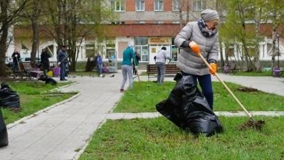 В Архангельске прошел третий общегородской субботник