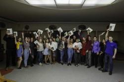 Студенты из педотрядов получили свидетельства о присвоении профессии вожатого