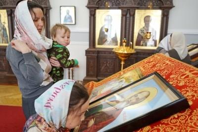 Год после освящения: возрожденный в САФУ храм Иоанна Богослова отметил престольный праздник
