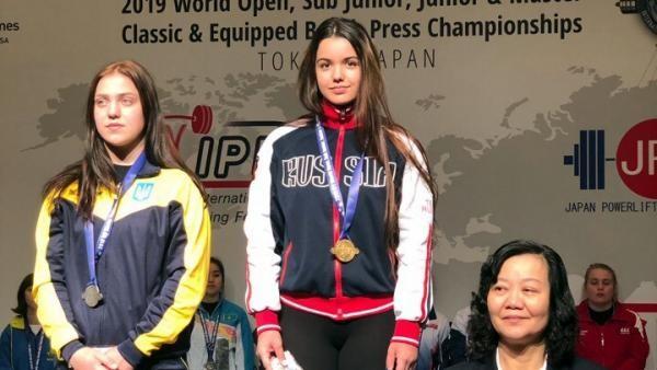 Юная спортсменка из Поморья взяла «золото» первенства мира по пауэрлифтингу