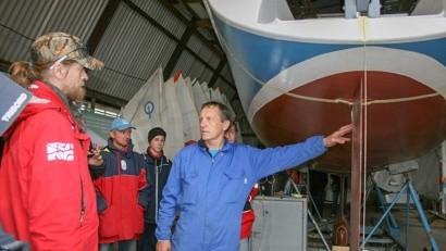 Василий Алексеев: «У северян огромный интерес к парусному спорту»