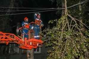 Шторм оставил часть Архангельска без электричества