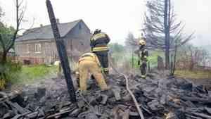 Большой пожар на Кегострове: погиб человек