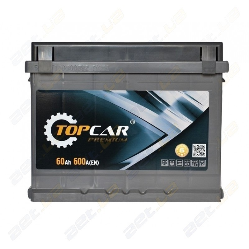 Top Car Premium – премиальный аккумулятор за разумные деньги