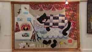 В Архангельске открылась выставка лоскутной живописи «Мой лоскутный мир»