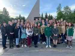 Студенты и сотрудники САФУ приняли участие в митинге, посвященном Дню памяти и скорби