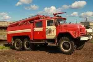 На территории исправительной колонии под Архангельском прошли пожарно-тактические учения