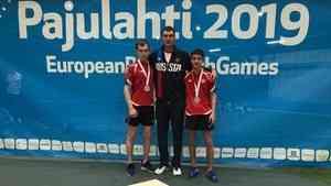 Северодвинец Арутюн Асланян стал серебряным призёром Европейских Паралимпийских игр