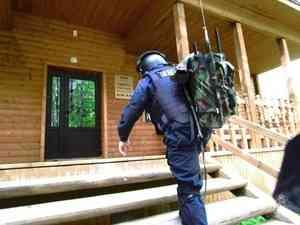 В Приморском районе Архангельской области сотрудники Росгвардии отработали порядок действий при обнаружении подозрительного предмета