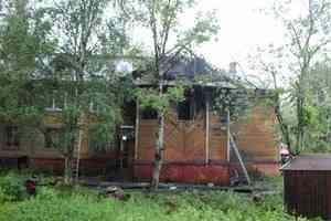 В Архангельске утром горел жилой дом