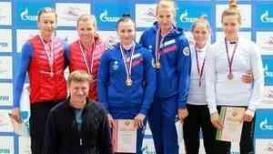 Архангелогородка взяли 4 медали на чемпионате России по гребле