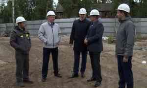Социальные стройки Архангельска иСеверодвинска сегодня инспектировали областные чиновники