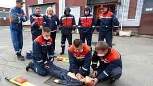 Архангельские энергетики готовят персонал к действиям при несчастных случаях на производстве