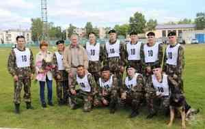 Команда ОМОН Управления Росгвардии по Архангельской области приняла участие в эстафете памяти погибших бойцов