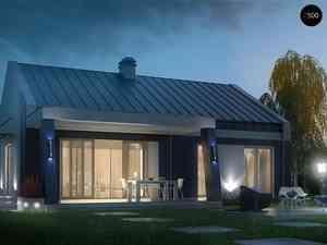 Z500 — великолепные проекты домов с двускатной крышей