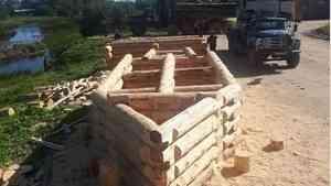 Дан старт восстановлению памятника деревянного зодчества «Мост на реке Тихманьге»