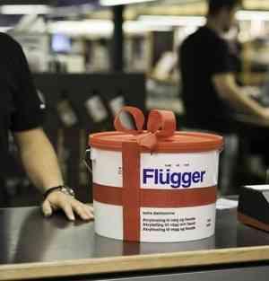 Flugger — качественные краски для потолка от датского производителя