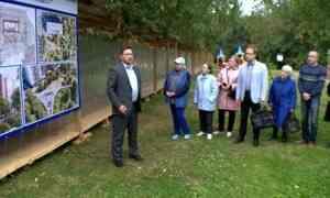 Спортивный комплекс, детская площадка, лыжероллерная трасса искалодром могут появиться всквере наКомсомольской