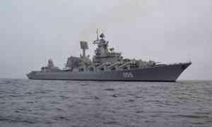 Ракетный крейсер Северного флота «Маршал Устинов» отправился вдальний поход