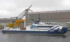 Исследовательское судно «Академик Александров» вышло вморе нагосударственные испытания