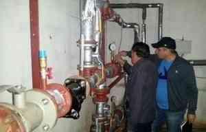 Приняты работы по капитальному ремонту системы теплоснабжения многоквартирного дома, расположенного по адресу ул.Строителей, д.50