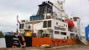«Тигриный» рефрижератор привез в Архангельск 2,5 тысячи тонн дальневосточной рыбы