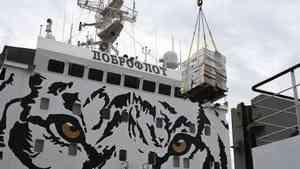«Тигр» с Дальнего Востока привёз в Архангельск две с половиной тонны рыбы
