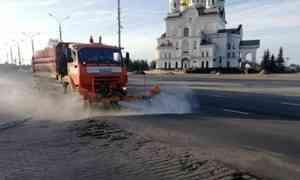 В Архангельске решили помыть улицы
