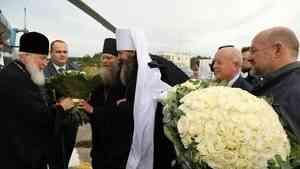 Предстоятель Русской Православной Церкви прибыл на Соловецкий архипелаг