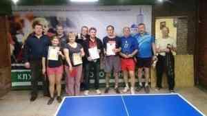 Пожилые архангелогородцы смогут реализовать себя в настольном теннисе