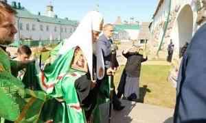 Патриарх Кирилл посетил Соловки