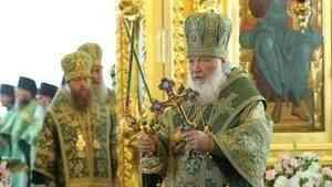 Патриарх обратился с пастырским напутствием к соловецким монахам и паломникам