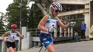Два серебра в один день: спортсменки из Поморья завоевали две медали в лыжероллерных гонках