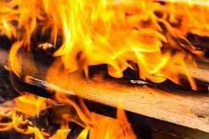 Три человека скончалось при пожаре вАрхангельске