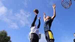 Состязания по уличному баскетболу продолжаются!