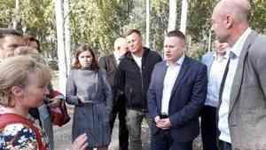 Благоустройство парка «Майский» в Архангельске идет по графику