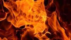 В Северодвинске сгорел брошенный автомобиль