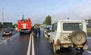ВАрхангельске всерьёзном ДТП пострадали четверо детей