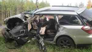 Шестилетний мальчик попал в больницу после аварии в Шенкурском районе