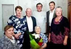 Вчера отметила свой 95-летний юбилей Таисья Ивановна Барон - участник Великой Отечественной войны