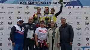 У Натальи Непряевой - золото всероссийских соревнований по лыжероллерам