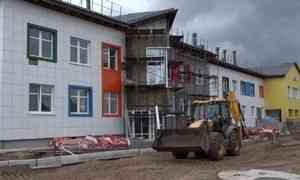 ВСеверодвинске завершается строительство детского сада вквартале №162