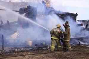 Более трети пожаров в Архангельской области происходит в жилье