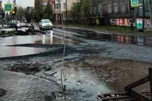 Журналист НТВ продемонстрировал типичный Архангельск