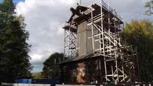 В Малых Корелах начался ремонт на самой крупной мельнице
