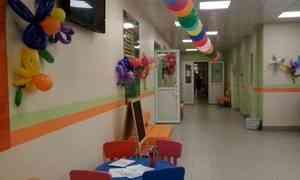 ВПятой детской поликлинике Северодвинска открыли новую регистратуру